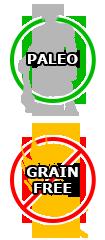 Paleo, Grain Free