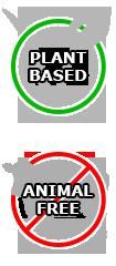 Plante à base, pas de produits animaux