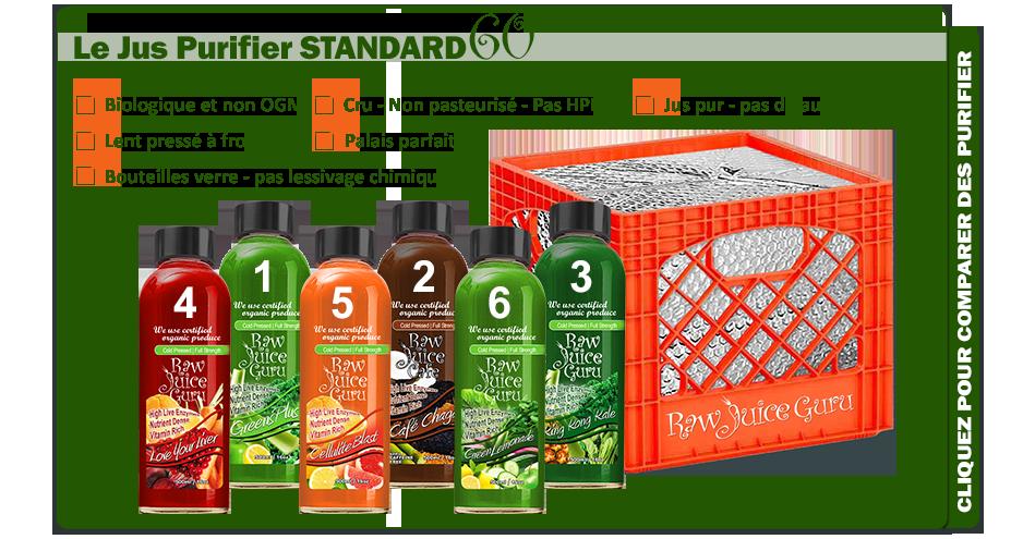 jus purifier standard60