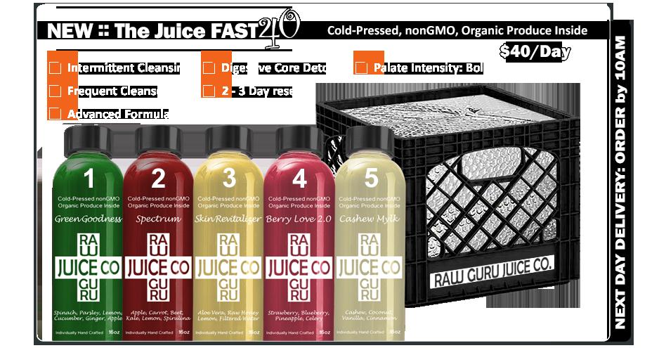 intermittent juice fast