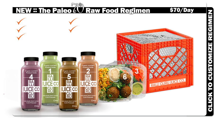 Paleo70 Raw Food Regimen